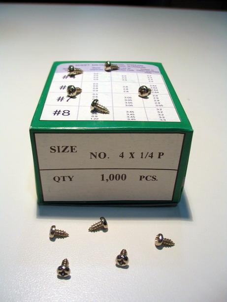 วัสดุอุปกรณ์ทำกรอบรูป ประเภทสกรูว์